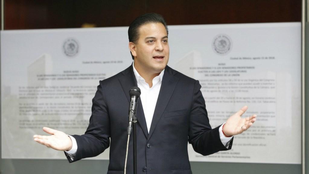 Damián Zepeda se opone al nombramiento de Moreno Valle en el Senado. Noticias en tiempo real