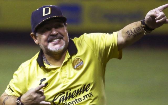 Maradona sigue sin reportar con Dorados a dos días de iniciar el torneo - Foto de AFP