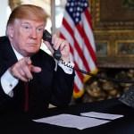 Trump anuncia salida del secretario del Interior - Trump anuncia salida del secretario del Interior