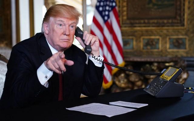 Mientras yo trabajo ustedes están allá afuera festejando: Trump - Trump anuncia salida del secretario del Interior