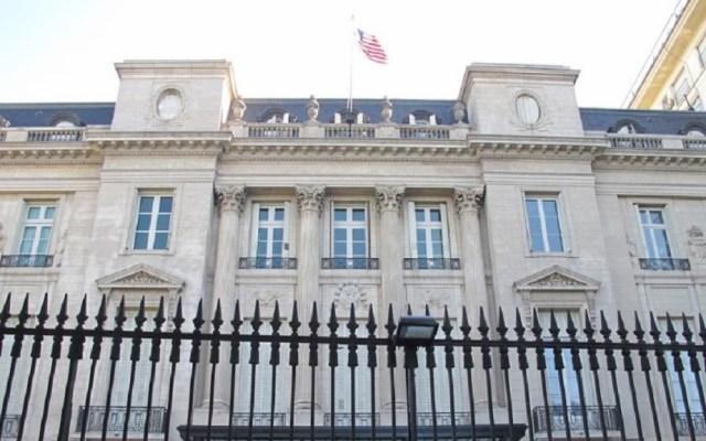 Evacuan embajada de EE.UU. en Argentina por falsa alarma de bomba - Embajada de Estados Unidos en Buenos Aires. Foto de Dan Hondo Harreson