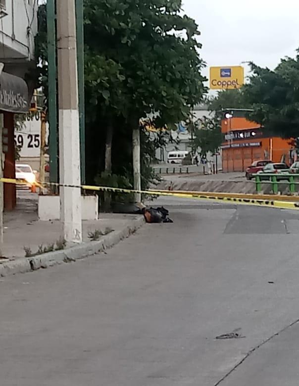 Restos embolsados en Chilpancingo. Foto de @l4nd3t4