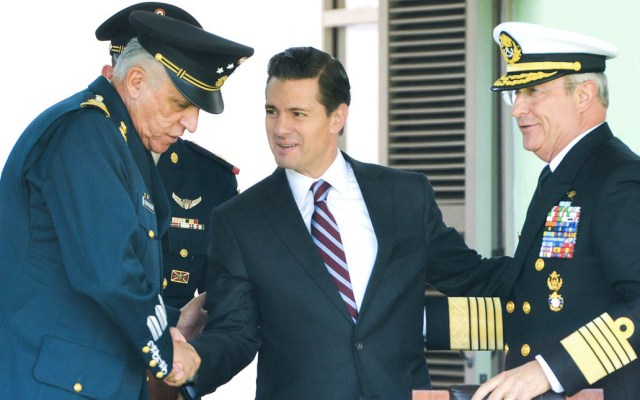 Peña Nieto defiende estrategia de seguridad de su sexenio - Foto de Presidencia