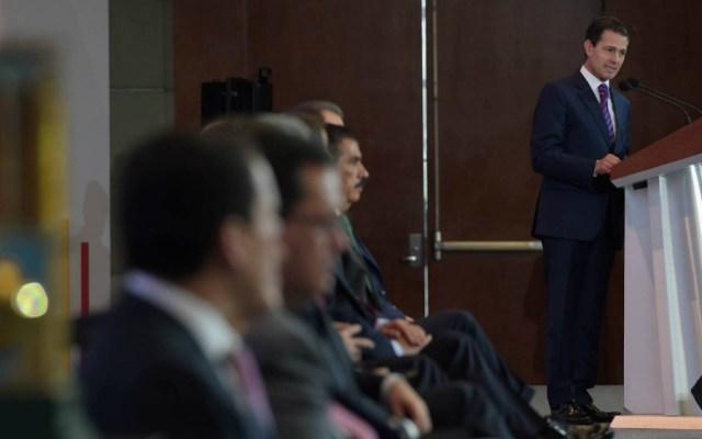 Presume EPN estabilidad en el país, a 22 días de terminar administración - Foto de Presidencia