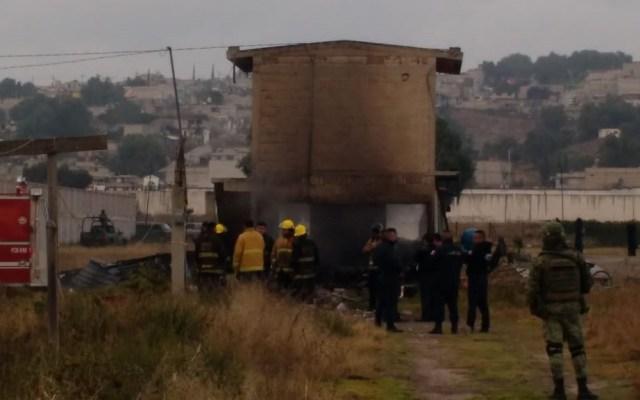 #Video Vuelve a explotar polvorín en Tultepec - Bomberos, policías y elementos del Ejército arribaron a La Saucera por explosión de polvorín. Foto de @vialhermes
