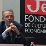 Presenta renuncia director del Fondo de Cultura Económica - Foto de Twitter José Carreño