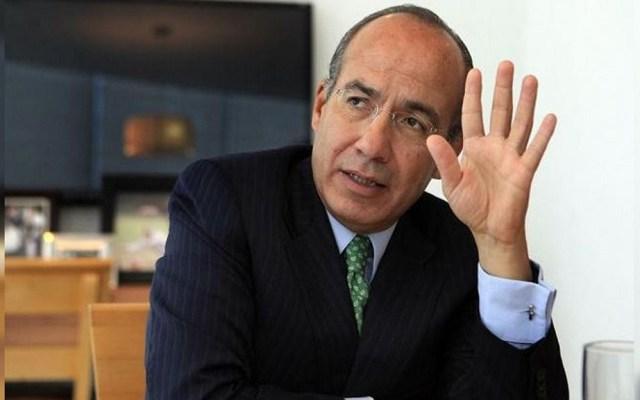 Combatí robo de gasolinas sin afectar a consumidores: Calderón - Expresidente de México, Felipe Calderón. Foto de Internet