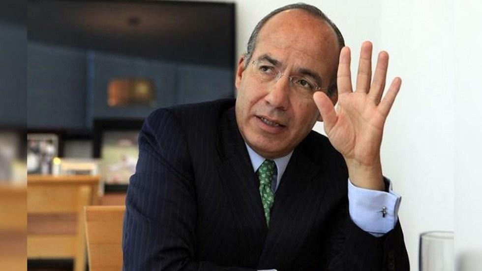 Felipe Calderón agradece disculpa de López Obrador - Expresidente de México, Felipe Calderón. Foto de Internet