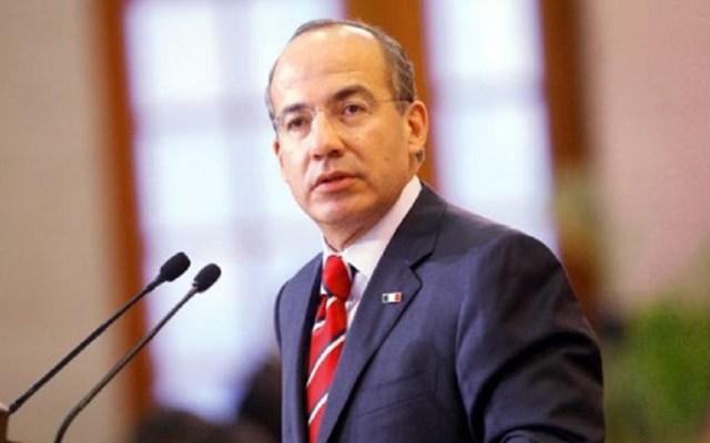 Gobierno debe reconocer que estrategia contra robo de combustible no funciona: Calderón - Felipe Calderón. Foto de Internet