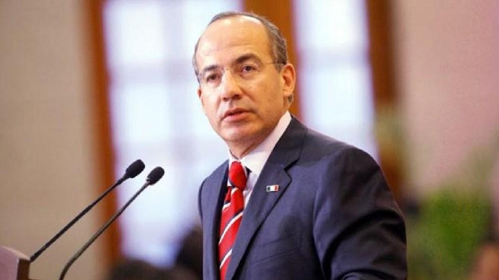 Propuesta de Calderón pulverizará la oposición: Fernández de Cevallos - Felipe Calderón. Foto de Internet