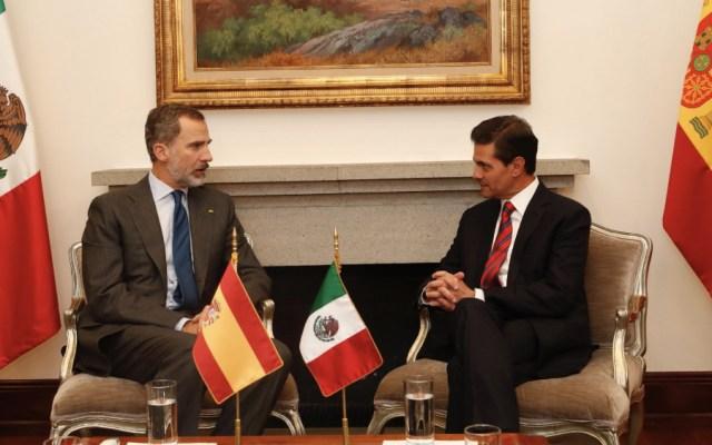 Peña Nieto y el Rey de España se reunieron - Foto de Casa Real