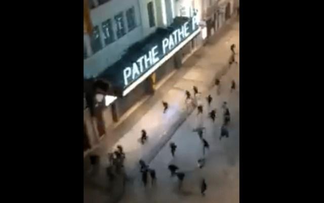 En Francia hay 116 detenidos por violencia en Halloween - Foto de captura de pantalla