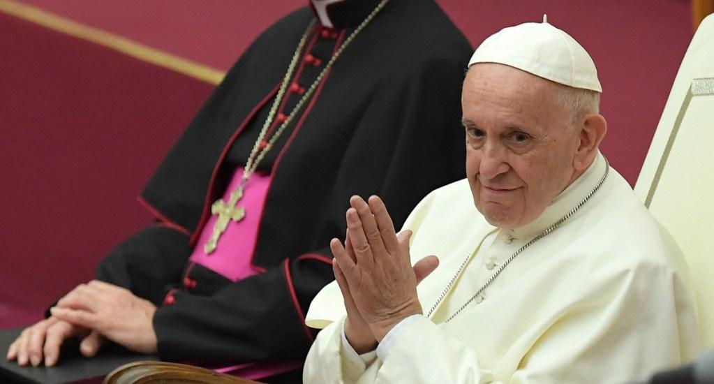 El consumismo es una enfermedad psiquiátrica: papa - Papa Francisco. Foto de AFP / Tiziana Fabi