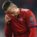 FranckRibéryagrede a comentarista deportivo en Alemania - Foto de AFP