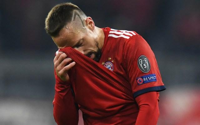 Ribery se disculpa por agresión a comentarista de televisión - Foto de AFP