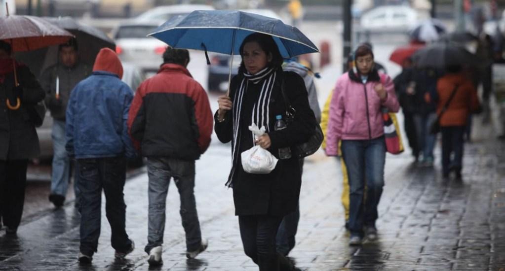 Prevén ambiente frío y lluvias en gran parte del país. Noticias en tiempo real