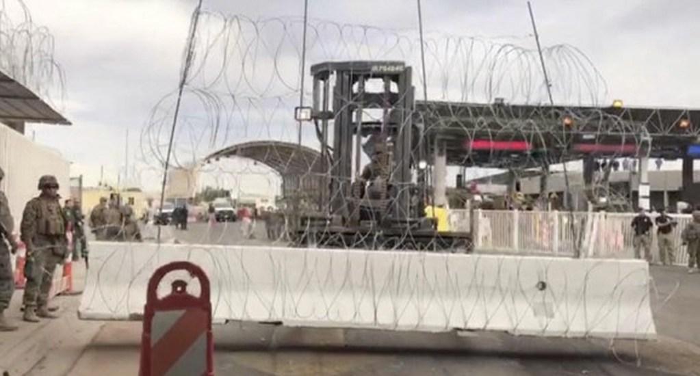 Simulacro obliga al cierre de la garita en San Luis Río Colorado y San Luis en Arizona - Foto de Telemundo