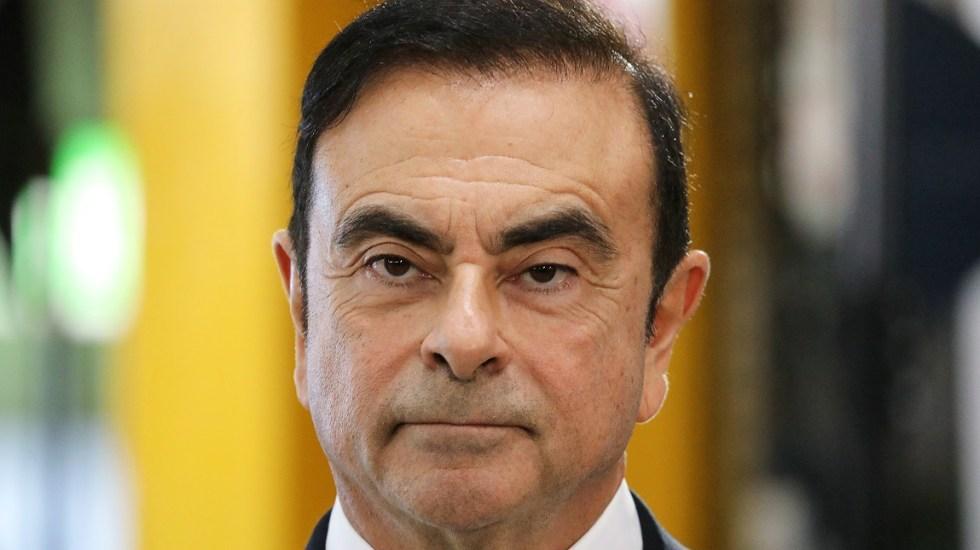Imputan nuevos cargos contra Carlos Ghosn - Carlos Ghosn. Foto de AFP / Ludovic Marin