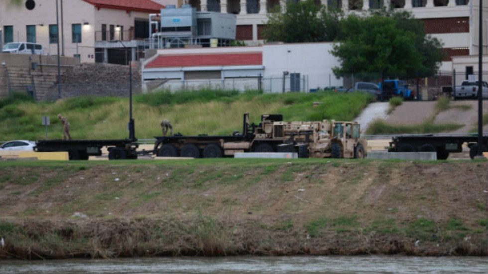Guardia Nacional estadounidense llega a frontera con Nuevo Laredo - Foto de Líder Informativo