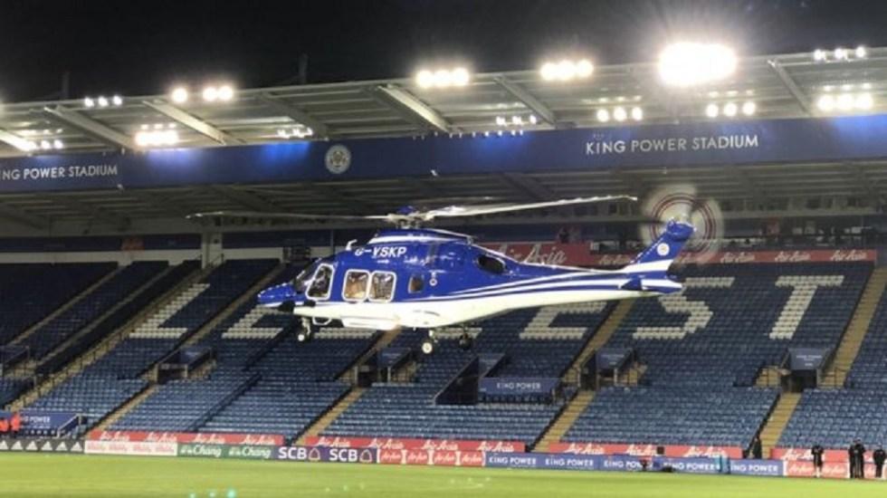 Descubren falla en helicóptero del dueño de Leicester City - Foto de Pete White