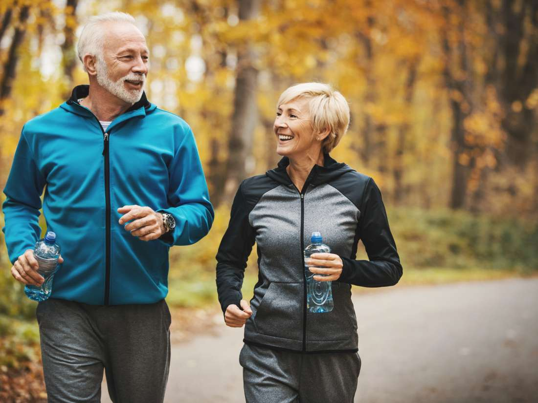 Actividad aerobica para adultos mayores