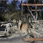 Suman 74 muertos tras incendios en California - Foto de Frederic J. BROWN / AFP