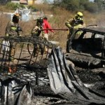 #Video Se incendia bodega de gasolina robada en Morelia - Foto de Twitter