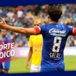 Javier Salas causa baja por lesión en el Cruz Azul - Foto de @Cruz_Azul_FC