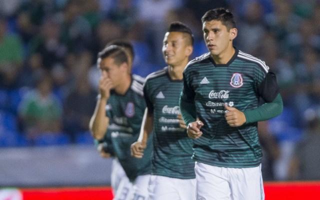 Jesús Angulo causa baja del Tricolor para duelos ante Argentina - Foto de Mexsport
