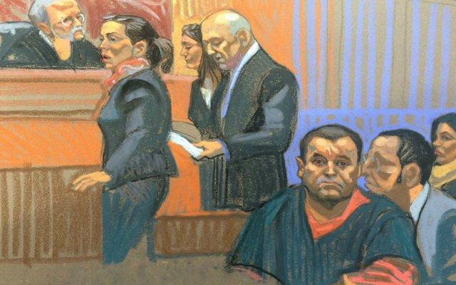Inicia juicio de El Chapo