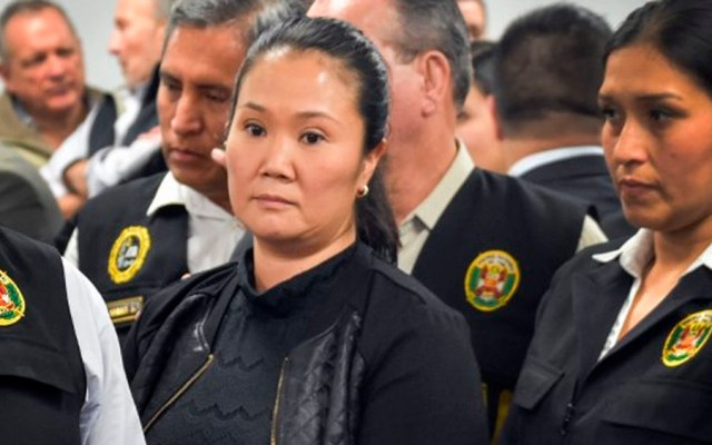 Keiko Fujimori declara ante Fiscalía por presunto lavado de activos - Keiko Fujimori