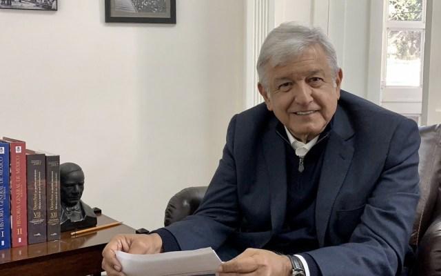López Obrador dará mensaje en el Congreso tras toma de posesión - Foto de Twitter