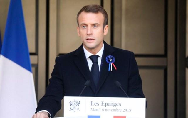 Detienen a seis personas por planear ataque contra Macron - Foto de AFP