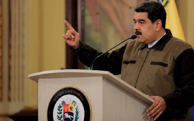 Parlamento de Venezuela declara ilegítimo y usurpador a Maduro - Nicolás Maduro se reeligió en comicios celebrados en mayo. Foto de @NicolasMaduro