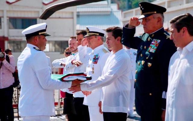 Murieron 152 marinos en el cumplimiento de su deber durante el sexenio - Foto de Twitter