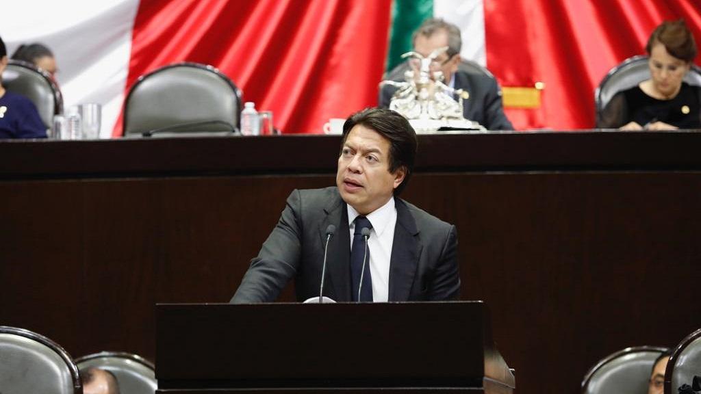 Mario Delgado rechaza conflicto con el poder judicial - ministros A los gobernadores no les ha caído el veinte de la austeridad: Mario Delgado
