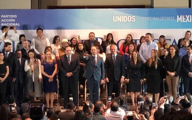 Marko Cortés asume la presidencia nacional del PAN - Foto de Quadratín