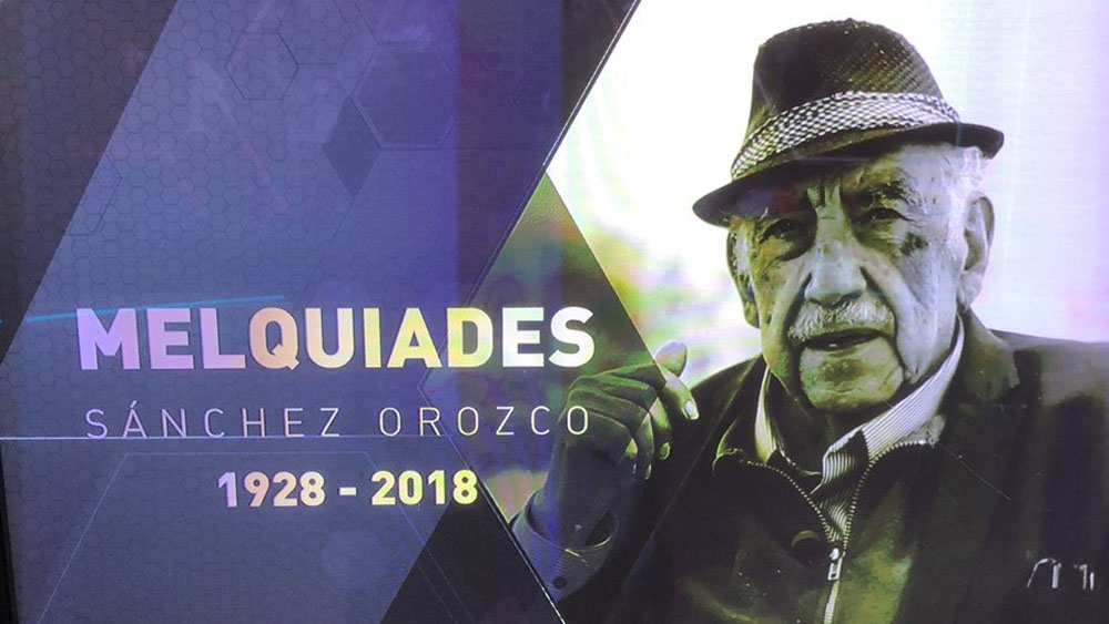 América lamenta muerte de Melquiades Sánchez. Noticias en tiempo real