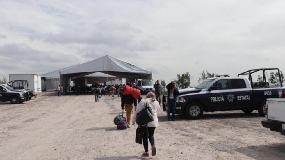 Llegan migrantes centroamericanos a albergue de San Juan del Río - Foto de @poesqro
