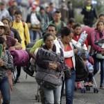 Europa estudia asistir a caravana migrante - Migrantes centroamericanos Foto de Twitter