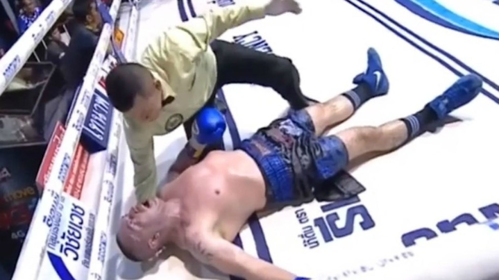 Peleador de Muay Thai muere al ser noqueado en Bangkok - Foto de Internet