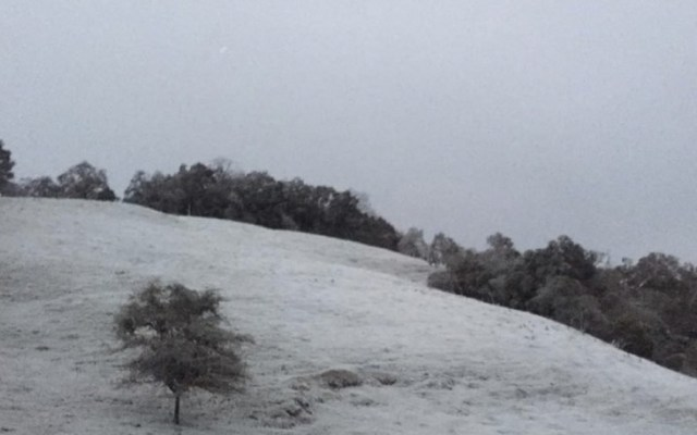 Prevén caída nieve y aguanieve en zonas montañosas del país - Foto de Quadratín