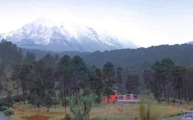 El Nevado de Toluca se cubre de blanco en pleno otoño - Nevado de Toluca