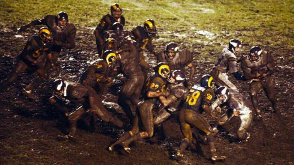 The Mud Bowl, cuando la NFL no le tenía miedo al campo - Foto de NFL