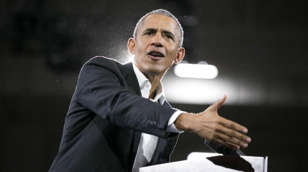 Obama cuestiona advertencias de Trump sobre migrantes - obama ataca a trump por crisis migrante