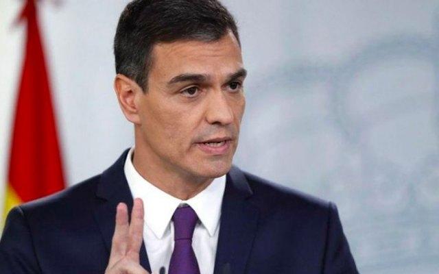 Detienen a sujeto que pretendía matar a presidente del Gobierno español - Pedro Sánchez, presidente del Gobierno español. Foto de EFE