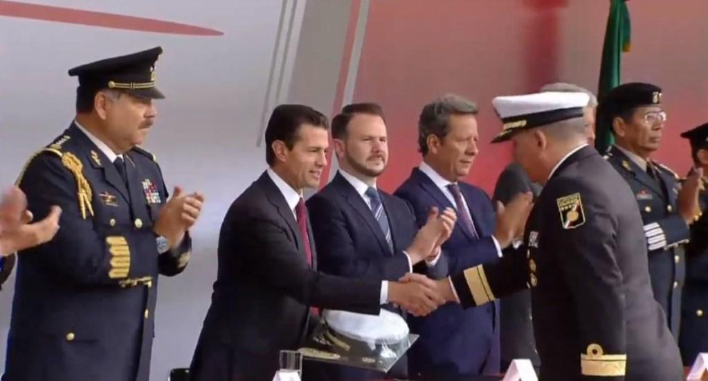 Peña Nieto pide al Estado Mayor ser leales a nueva etapa del país - Peña Nieto reconoció el trabajo del Estado Mayor