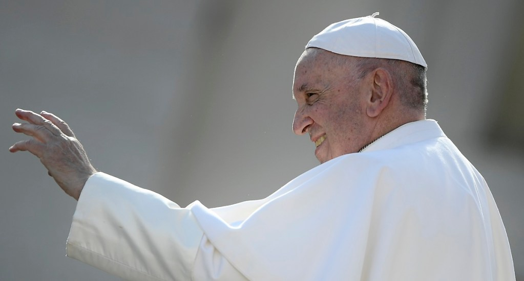 El papa llama a abandonar el orgullo y la soberbia - Papa Francisco. Foto de AFP / Filippo Monteforte