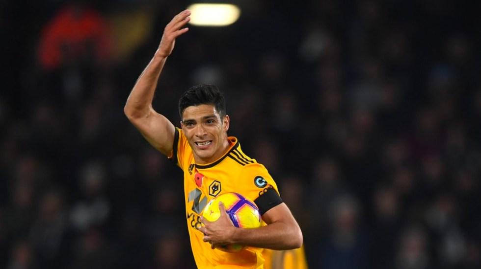 Wolverhampton y Raúl Jiménez enfrentarán al Manchester United en FA Cup - Foto de Twitter
