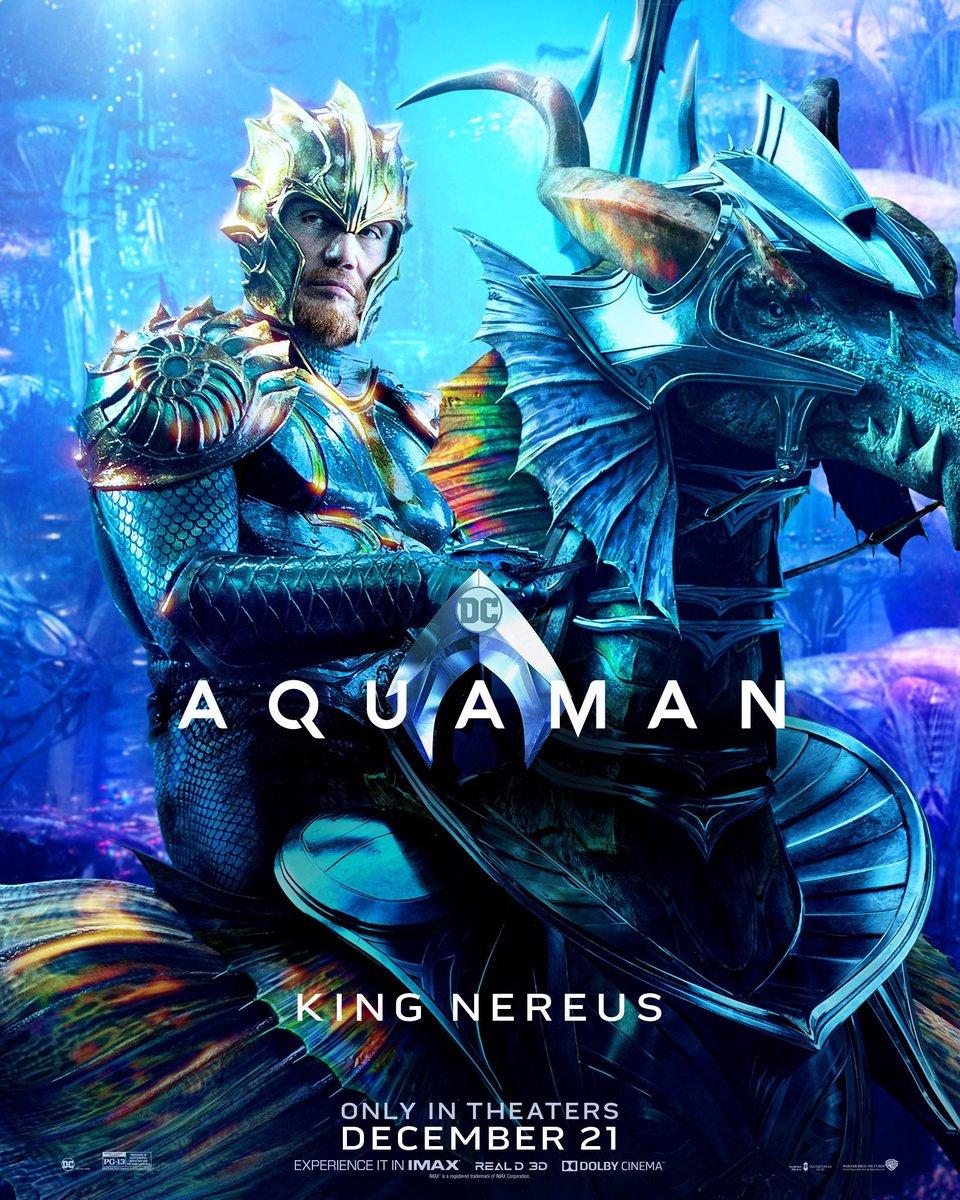 Rey Nereus. Foto de Warner Bros Pictures
